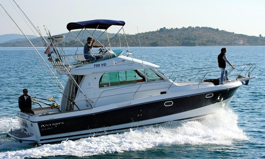 Enjoy Fishing In Vodice, Croatia On 35' Antares Sport Fisherman