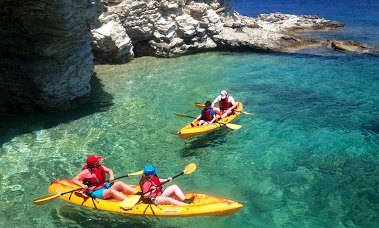 Kayak In Lefkada