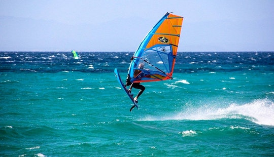Enjoy Windsurfing Rentals & Lessons In Genova, Liguria