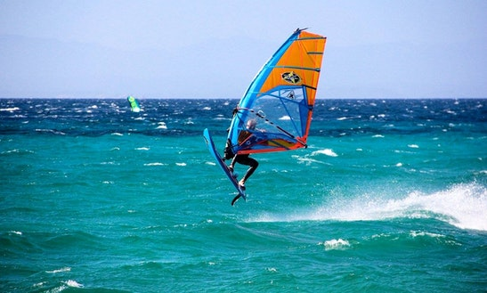 Enjoy Windsurfing Rentals & Lessons In Genova, Liguria