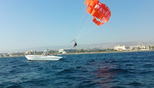 Enjoy Double Parasailing In Yeroskipou, Cyprus