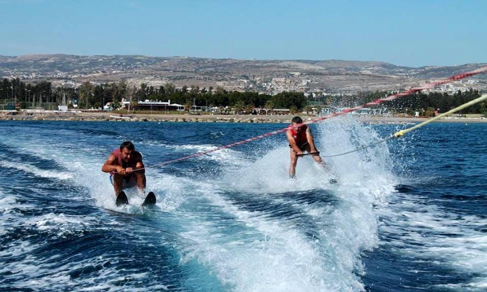 Enjoy Water Skiing in Yeroskipou, Cyprus