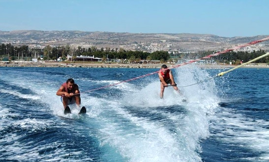 Enjoy Water Skiing In Yeroskipou, Cyprus