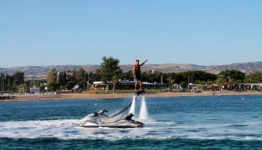 Enjoy Flyboarding In Yeroskipou, Cyprus