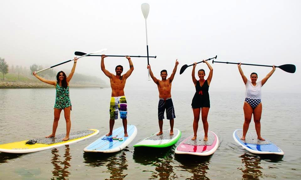 Enjoy Stand Up Paddleboard Lessons in Vila Nova de Gaia, Portugal