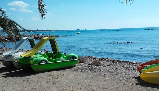 Rent A Paddle Boat In Yeroskipou, Cyprus