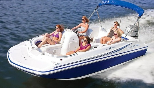 Rent The 21ft Hurricane Fundeck Boat Rental In Stuart