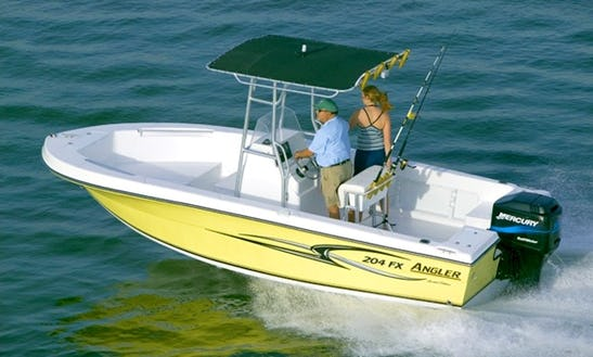 Rent The 23' Proline Center Console In Stuart, Florida