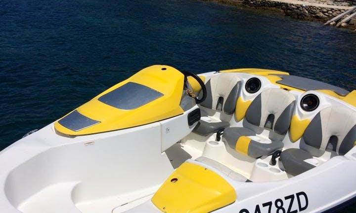 Rent a Seadoo Inboard Propulsion in Petrčane, Croatia