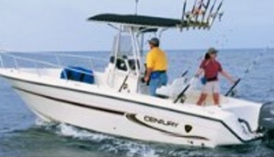 Rent This 23' Century Center Console In Stuart, Florida