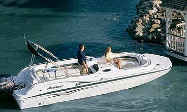 23ft Hurricane SunDeck Boat rental in Stuart, FL
