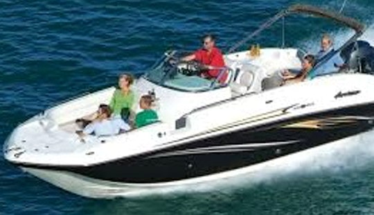 26ft Hurricane Sundeck Boat Rental In Stuart, Florida