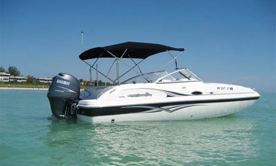 Enjoy This 23' Hurricane Deck Boat In Stuart, Florida