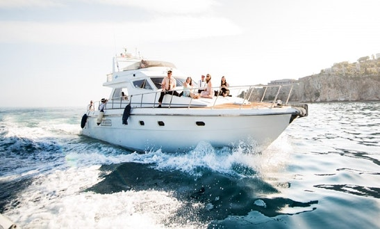 Charter The 50ft Motor Yacht In Taormina, Sicilia