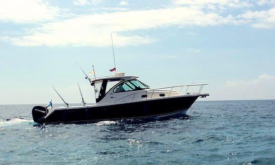 Enjoy Fishing In Limasol, Cyprus On 30' Pursuit Motor Yacht
