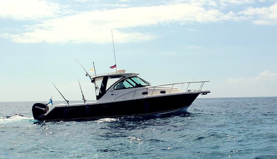Enjoy Fishing In Limasol, Cyprus On 30' Pursuit Motor Yacht