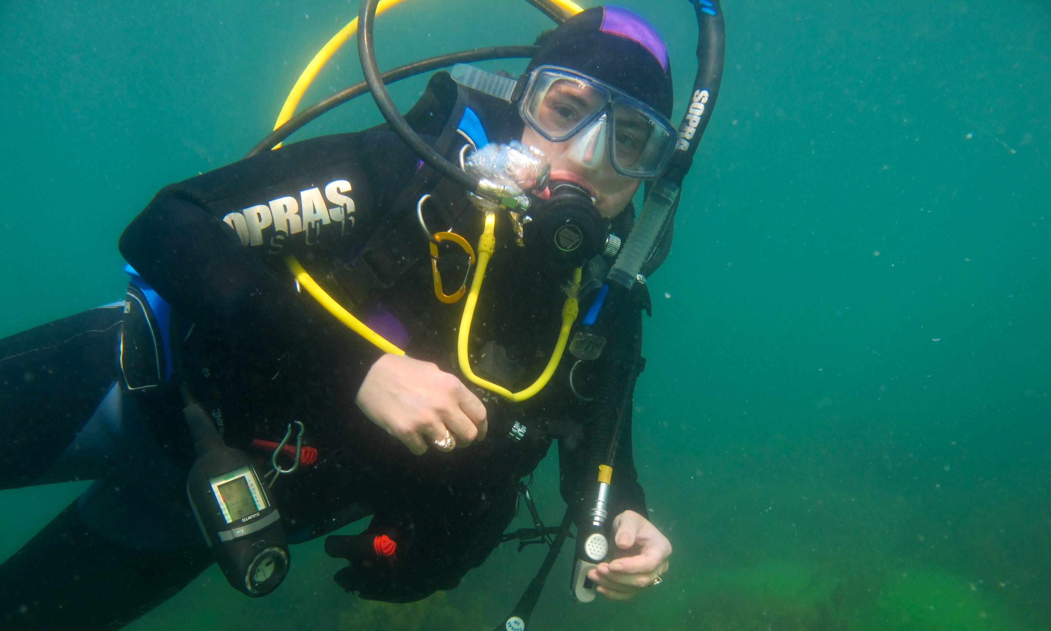 Diving in Black Sea (Romania and Bulgaria)