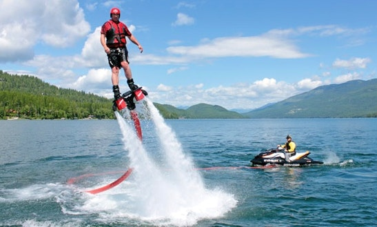 Enjoy Flyboarding In Esposende, Portugal