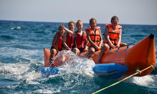Enjoy Banana Boat Rides In Limasol, Cyprus