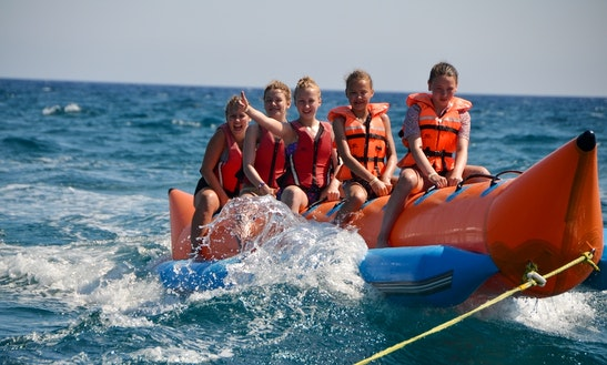 Enjoy Banana Boat Rides In Limasol, Cyprus
