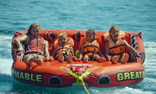 Thrilling Sofa Rides For Children In Limasol, Cyprus