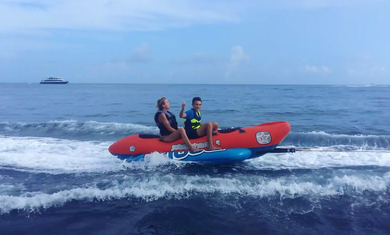 Enjoy Banana Rides In Thulusdhoo, Maldives
