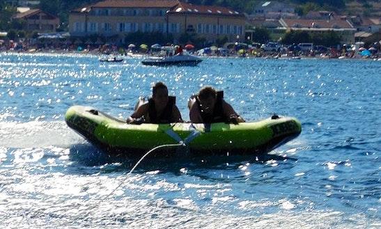 Enjoy Tubing In Baška, Croatia