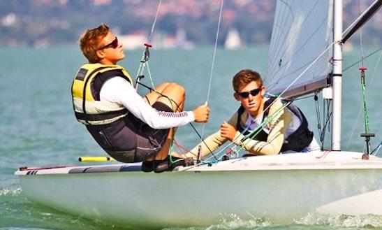 Rent 16' Pirate Sailing Dinghy In Balatonfüred, Hungary