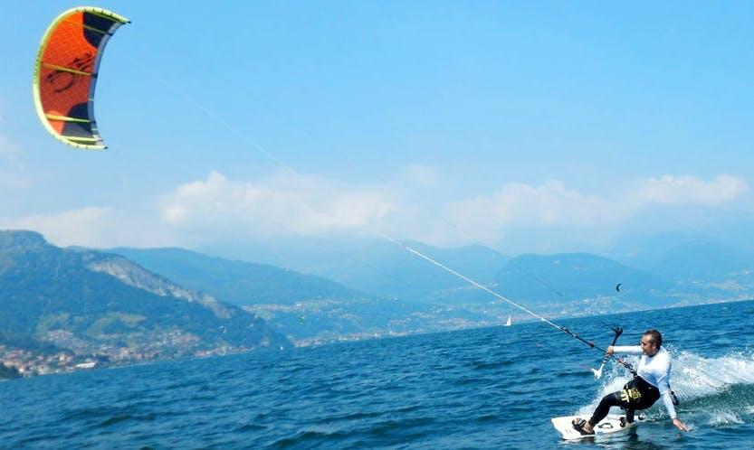 Kitesurfing Course in Bari, Puglia, Italy