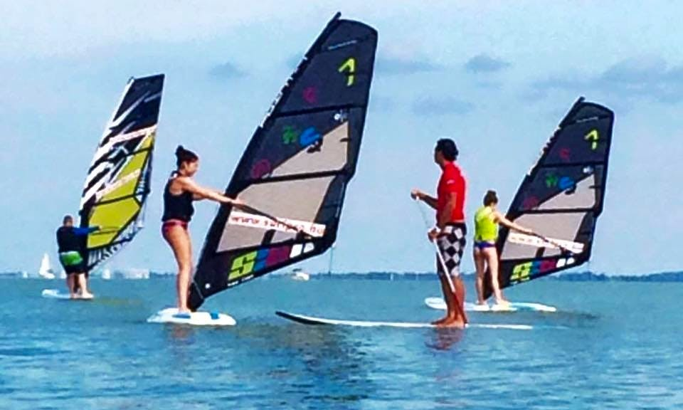 Enjoy Windsurf Rentals & Lessons in Balatonfüred, Hungary