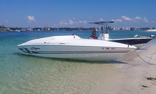 Baja Boss 272 Performance Speed Boat For Rent Lower Fox River And Chain O Lakes