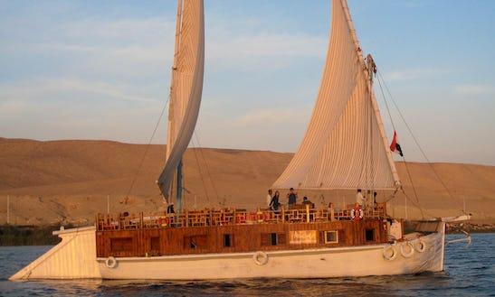 Charter A Traditional Boat In Gazirat Al Awameyah, Luxor, Egypt