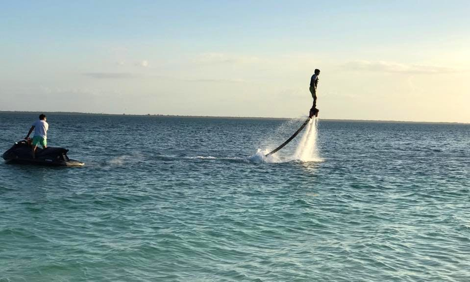 Enjoy Flyboarding in Kendwa, Tanzania