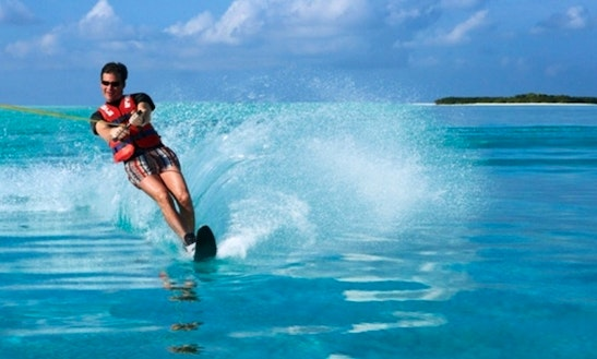 Enjoy Water Skiing In Kendwa, Tanzania