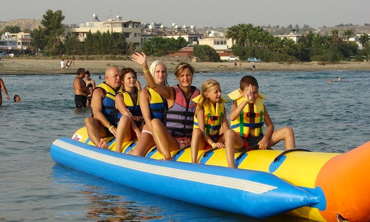 Enjoy Banana Rides in Pile, Larnaka