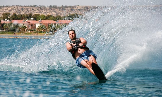 Enjoy Water Skiing In Pile, Larnaka