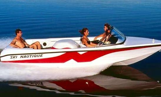Rent 19' Ski Nautique Inboard Propulsion In Majkovi, Croatia