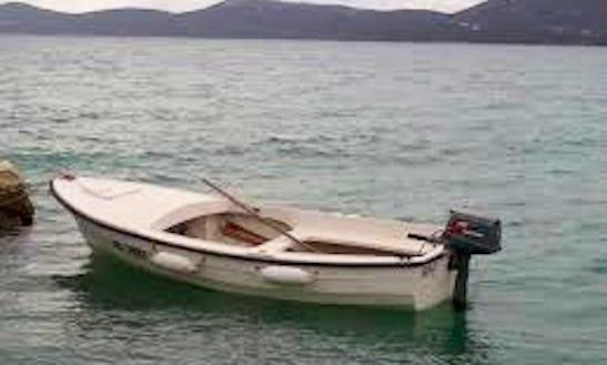 Rent 13' Dinghy In Majkovi, Croatia