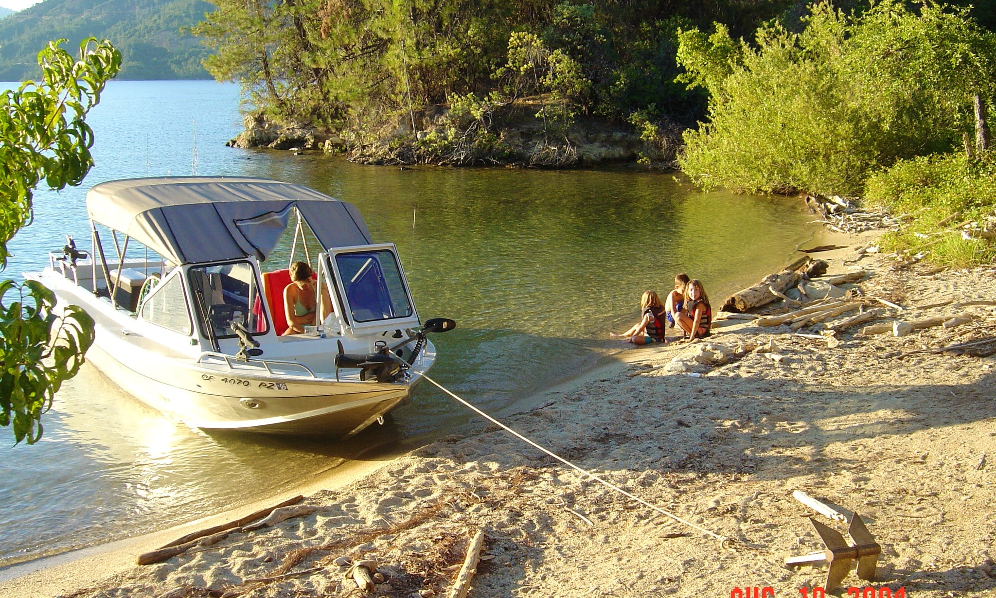 21 ft Ski or Fish Aluminum Jet Boat North River Commander