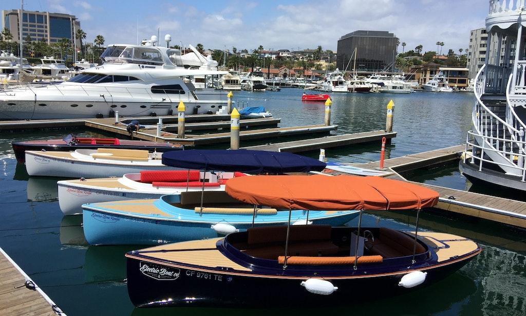 Electric Boat Rental In Newport Beach