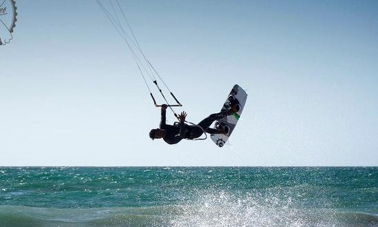 Enjoy Kiteboarding Lessons In Tamraght, Morocco