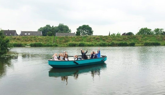 Rent A Custom-designed Sloops For 10 People In Leerdam, Netherlands
