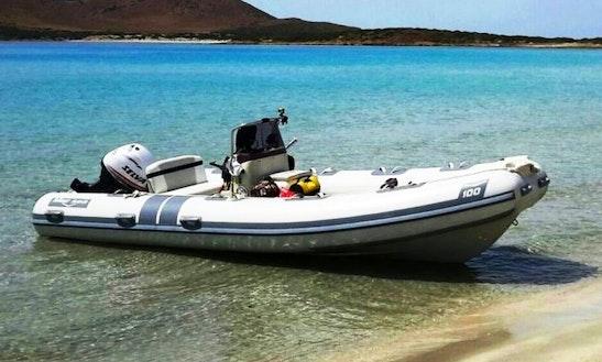 Rent 19' Marsea Rigid Inflatable Boat In Portoscuso, Sardegna