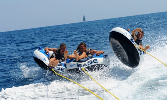 Enjoy Tube Rides In Ramatuelle, France