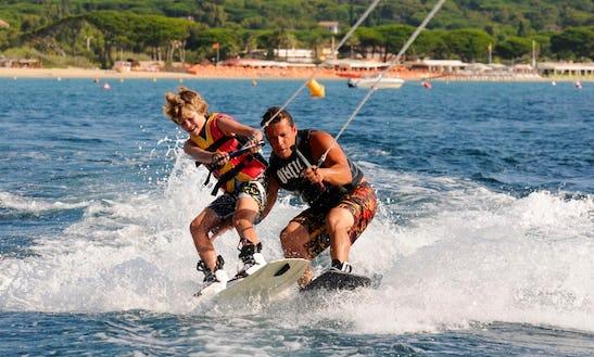 Enjoy Wakeboarding In Ramatuelle, France