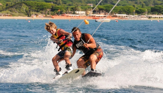 Enjoy Wakeboarding In Ramatuelle, France