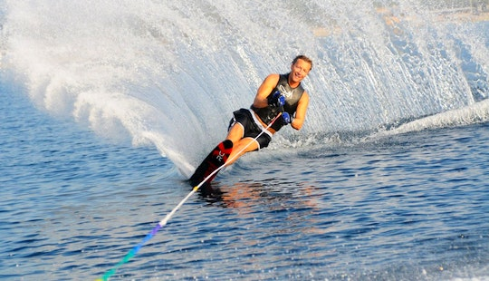 Enjoy Water Skiing In Ramatuelle, France