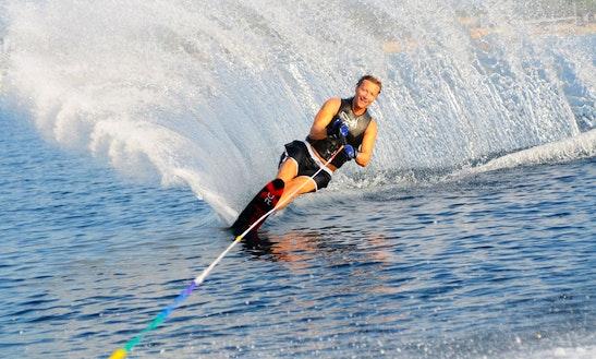 Enjoy Water Skiing In Ramatuelle, France