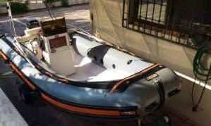 Rent a Rigid Inflatable Boat in San Nicola di Tremiti, Italy