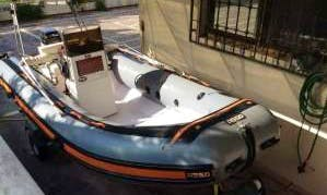 Rent a Rigid Inflatable Boat in San Nicola di Tremiti, Italy